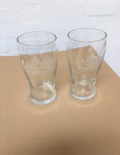 gravering glas