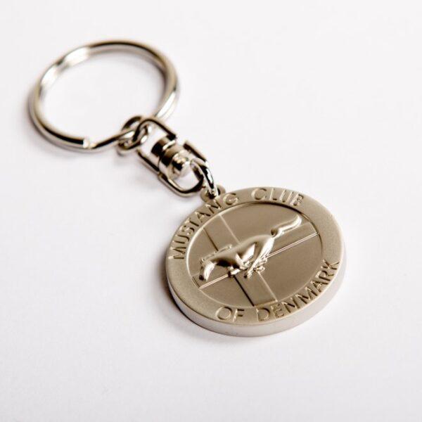 Mustangklub Danmark nøglering